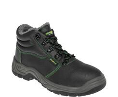 Zateplená členková bezpečnostná obuv ADAMANT Clasic Winter S3