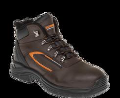 Zateplená členková bezpečnostná obuv BENNON FARMIS High S3