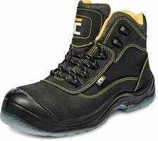Zateplená členková bezpečnostná obuv BLACK KNIGHT MF S3 (nekovová)