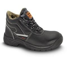 Zateplená členková bezpečnostná obuv BRUSEL S3