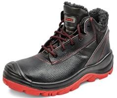 Zateplená členková bezpečnostná obuv PANDA CERBIATTO S3 (nekovová)