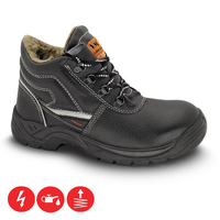 Zateplená členková pracovná obuv BRUSEL O1