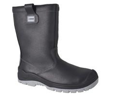 Zateplená poloholeňová bezpečnostná obuv TIBIA S3 (nekovová)