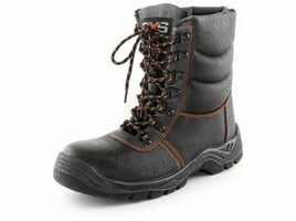 Zateplená poloholeňová bezpečnostná obuv TOPAZ S3