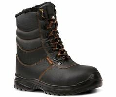 Zateplená poloholeňová pracovná obuv BASIC SIGMA O2