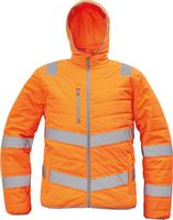 Zateplená reflexná bunda MONTROSE Hi-Vis