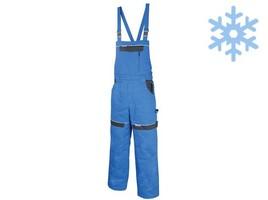 Zateplené montérkové nohavice COOL TREND s náprsenkou