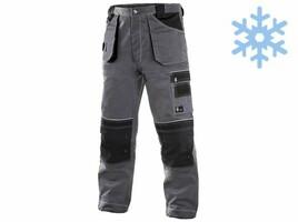 Zateplené montérkové nohavice CXS ORION TEODOR do pása predĺžené (194 cm)