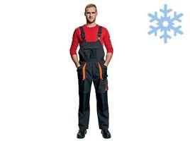 Zateplené montérkové nohavice EMERTON WINTER s náprsenkou