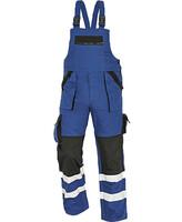 Zateplené montérkové nohavice MAX WINTER REFLEX s náprsenkou