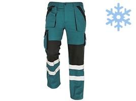 Zateplené montérkové nohavice MAX WINTER RFLX do pása