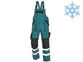 Zateplené montérkové nohavice MAX WINTER RFLX s náprsenkou