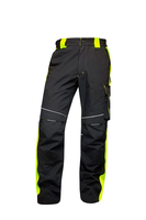 Zateplené montérkové nohavice NEON WINTER do pása
