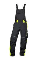 Zateplené montérkové nohavice NEON WINTER s náprsenkou