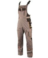 Zateplené montérkové nohavice VISION s náprsenkou