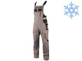 Zateplené montérkové nohavice VISION s náprsenkou - AKCIA
