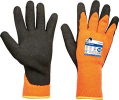 Zateplené pracovné rukavice ARVENSIS máčané v latexe