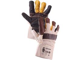 Zateplené pracovné rukavice BOJAR WINTER kombinované