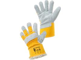 Zateplené pracovné rukavice DINGO WINTER kombinované