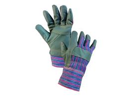 Zateplené pracovné rukavice DINO WINTER kombinované
