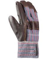 Zateplené pracovné rukavice DON WINTER kombinované