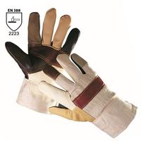 Zateplené pracovné rukavice FIREFINCH kombinované