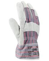Zateplené pracovné rukavice GINO WINTER kombinované