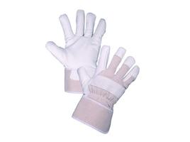 Zateplené pracovné rukavice GORO WINTER kombinované