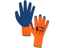 Zateplené pracovné rukavice INDUSTRY ROXY WINTER máčané