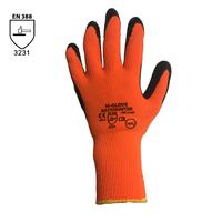 Zateplené pracovné rukavice M-GLOVE RECOWIND máčané v latexe