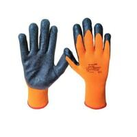 Zateplené pracovné rukavice M-GLOVE WINTEREX máčané v latexe