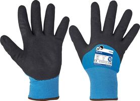 Zateplené pracovné rukavice MILVUS FH máčané v nitrile