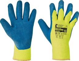 Zateplené pracovné rukavice NIGHTJAR máčané v latexe