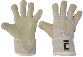 Zateplené pracovné rukavice SHAG kombinované