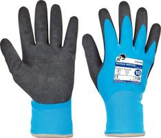 Zateplené pracovné rukavice TETRAX WINTER FH máčané v latexe