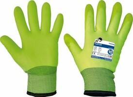 Zateplené pracovné rukavice TURTUR máčané v PVC