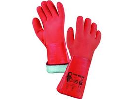 Zateplené pracovné rukavice ZARO WINTER celomáčané