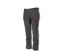 Zateplené softshellové nohavice PROMACHER SOLON BLACK