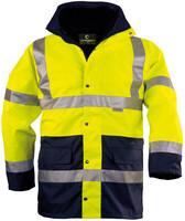 Zimná reflexná bunda HI-WAY 4v1 Hi-Vis