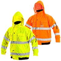 Zimná reflexná bunda LEEDS Hi-Vis 2v1