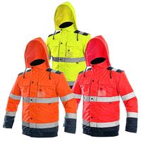 Zimná reflexná bunda LUTON Hi-Vis 2v1
