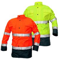 Zimná reflexná bunda MALABAR Hi-Vis 2v1