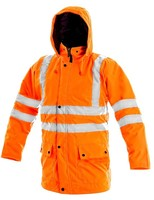 Zimná reflexná bunda OXFORD Hi-Vis 5v1 oranžová