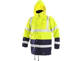 Zimná reflexná bunda OXFORD Hi-Vis žltá