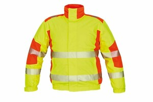 Zimná reflexná bunda TRILA Hi-Vis