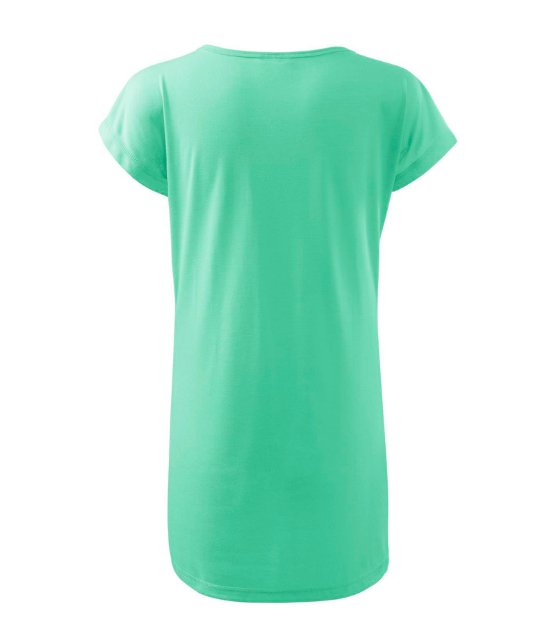 b20835c23d67 Pracovné odevy- Adler Tričko šaty LOVE 150g dámske mätová S