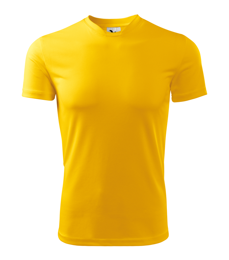 fcc9d37d2ed1 Pracovné odevy- Adler Tričko FANTASY 150g pánske funkčné žltá XXL