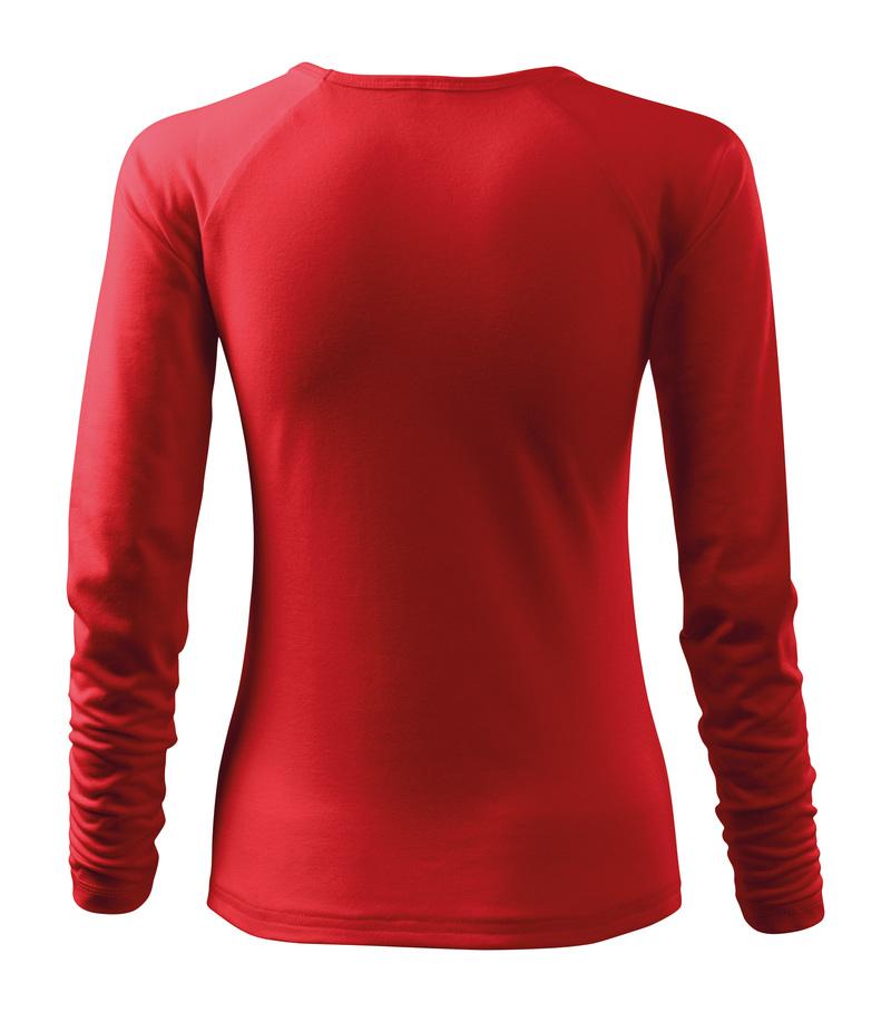 c99cd2827c74 Adler Tričko ELEGANCE 180g dlhý rukáv dámske červená L