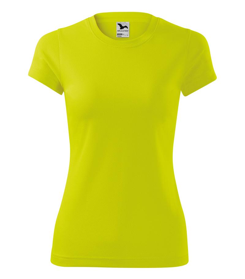 a4e49068f262 Adler Tričko FANTASY 150g dámske funkčné neonová žltá XXL
