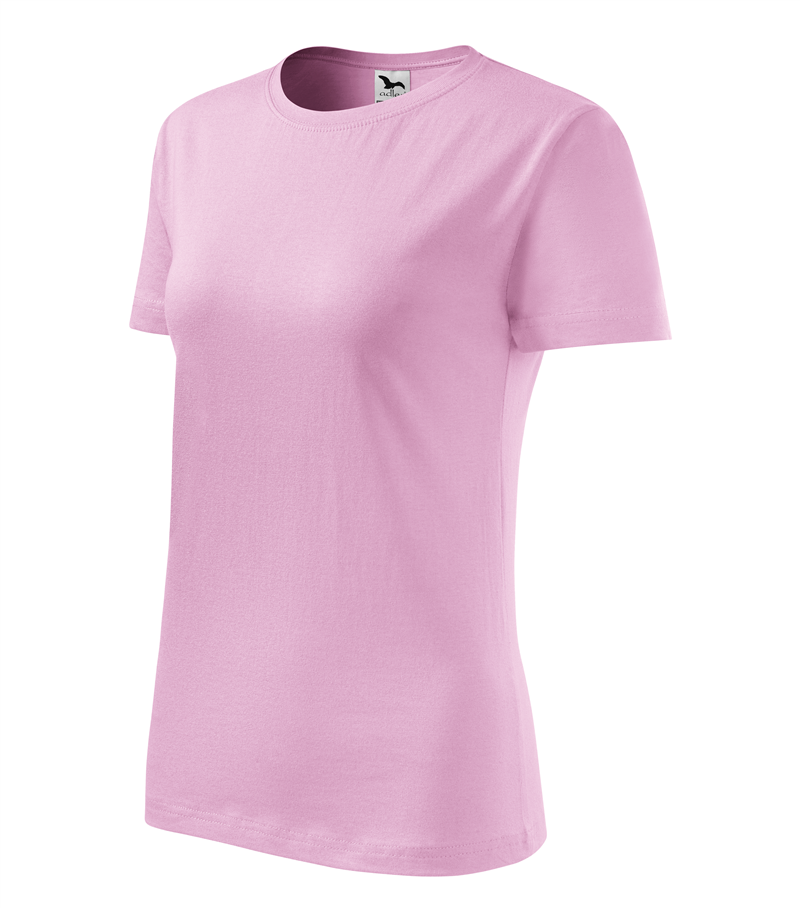 5e52dcf70774 Pracovné odevy- Adler Tričko BASIC 160g dámske ružové L